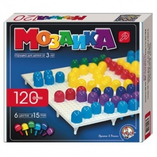 Мозаика d15/6цв/120шт/1поле/230х200х35,00965
