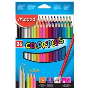 Карандаши цветные Maped COLOR?PEPS 36 цв.