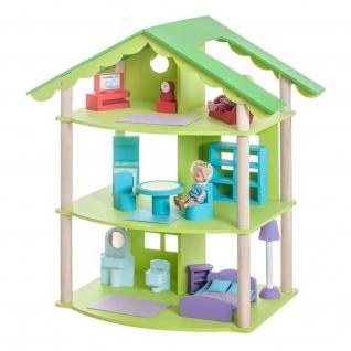 """Кукольный домик """"Фиолент"""" с мебелью, 14 предметов Paremo"""
