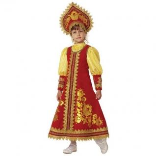 Карнавальный костюм для девочки-сударушка