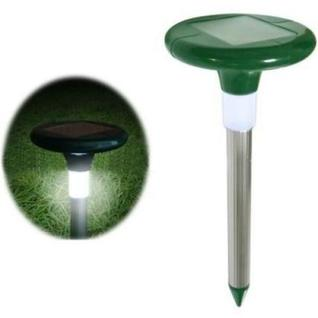 """Отпугиватель кротов и насекомых с солнечной батареей """"SITITEK Гром-Профи LED+"""""""