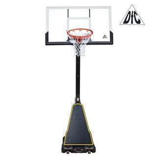 DFC Баскетбольная мобильная стойка DFC STAND60P 152x90cm поликарбонат (два короба)