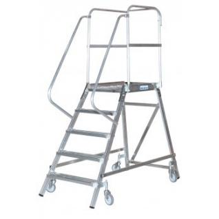 Лестница-платформа STABILO с 4-мя алюм. ступеньками