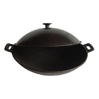 Сковорода ВОК чугун с метал крышк Mallony D-31 см W-31L 985042