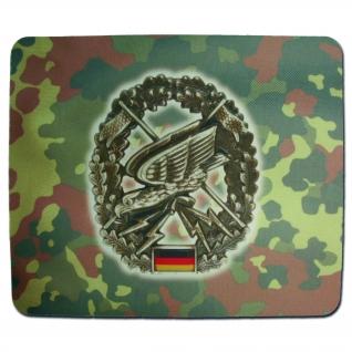 Made in Germany Коврик для мыши Flecktarn Fernspaeher