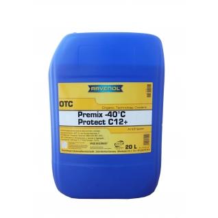 Антифриз Ravenol OTC Organic Technology Coolant Premix -40°C 20л