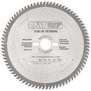 Диск пильный для чистового поперечного реза XTreme CMT 274.080.10M