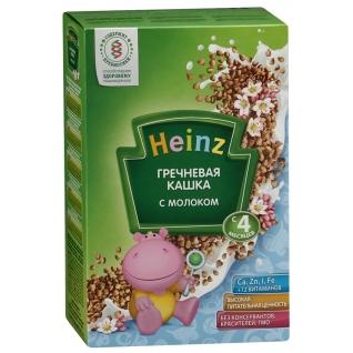 """Молочная каша Heinz """"Гречневая с молоком"""" (с 4 мес.), 250 гр."""
