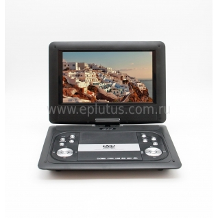 Портативный DVD плеер c цифровым тюнером DVB-T2 Eplutus EP-1029T Eplutus