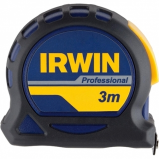 Рулетка Irwin 3м х 16мм PROFESSIONAL, магнит, нейлон, двухсторонняя разметка без упаковки